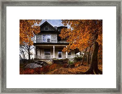 Dark Shadows Framed Print by Debra and Dave Vanderlaan