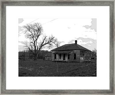Dark Times Framed Print by Jimi Bush