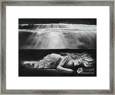 Darkness Falls Upon Me Framed Print by Carla Carson