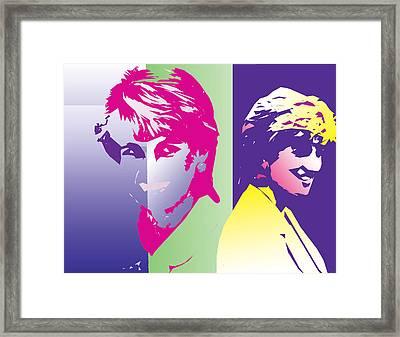 Darling Diana Framed Print by Jimi Bush