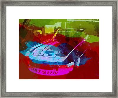 Datsun Framed Print by Naxart Studio