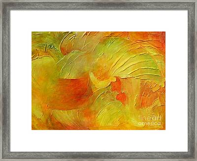 Daulphins Framed Print by Claire Gagnon