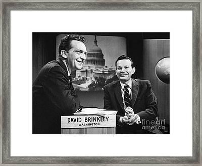 David Brinkley (1920-2003) Framed Print by Granger