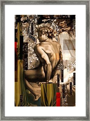 David Et Julie Framed Print by Karine Percheron-Daniels