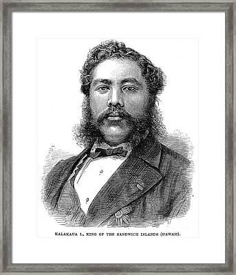 David Kalakaua (1836-1891) Framed Print by Granger