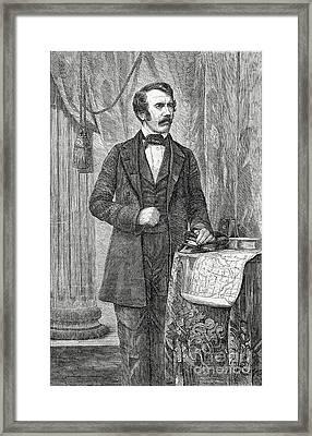 David Livingston, Scottish Missionary Framed Print by Science Source