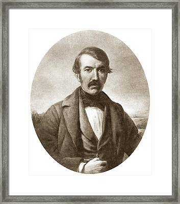 David Livingstone, Scottish Explorer Framed Print by Sheila Terry