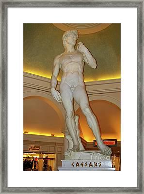 David Michelangelo Framed Print by Mariola Bitner