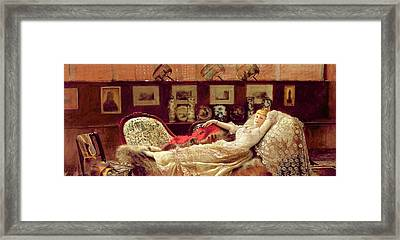 Day Dreams Framed Print by John Atkinson Grimshaw