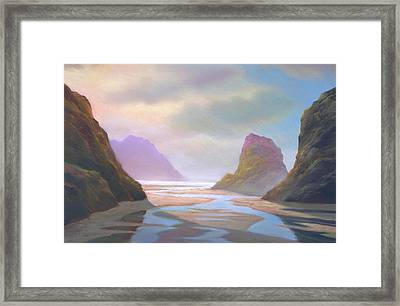 Day Of Reckoning Framed Print by Michael Cook