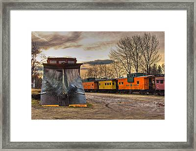Day Of The Plow Framed Print by Joann Vitali