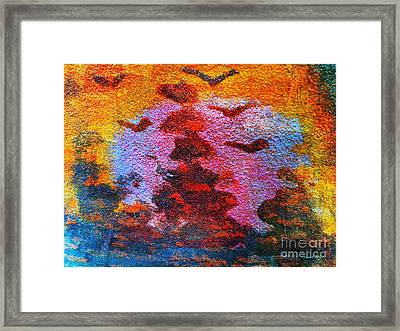 Day Time Is Here Framed Print by Fania Simon