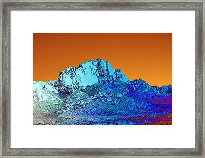 Daybreak At The Great Divide Framed Print by Jimi Bush