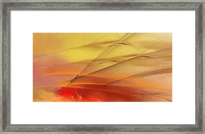 Daybreak Framed Print by Wally Boggus