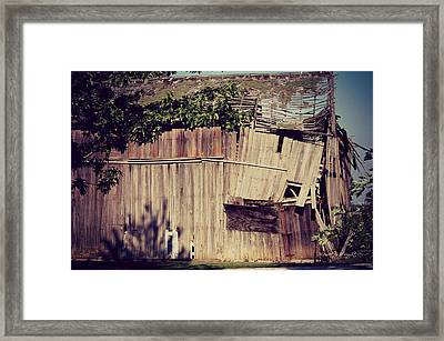 Days Gone By Framed Print by Paulette B Wright
