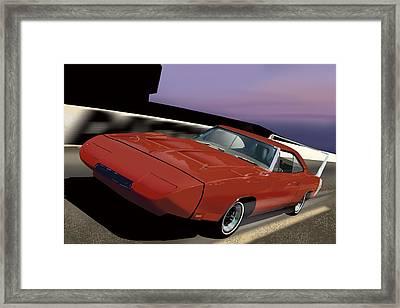 Daytona Nights Framed Print by Richard Herron