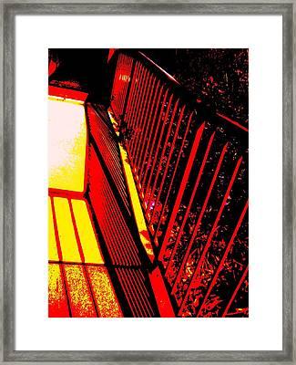 De Railed Thought Framed Print by Allen n Lehman
