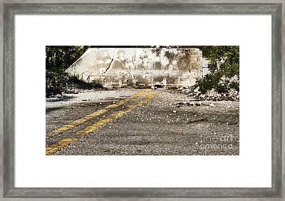 Dead End Street Framed Print by Blink Images