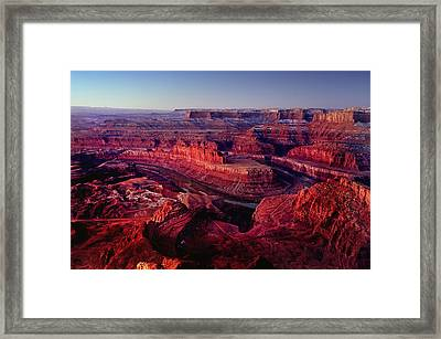 Dead Horse Point Framed Print by Wade Aiken