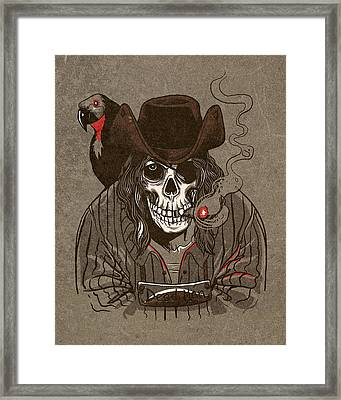 Dead Man Framed Print by Michael Myers