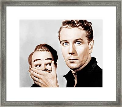 Dead Of Night, Michael Redgrave, 1945 Framed Print by Everett
