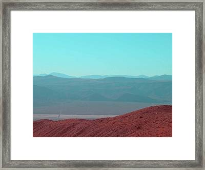 Death Valley View 2 Framed Print by Naxart Studio