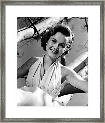 Debbie Reynolds, 1953 Framed Print by Everett