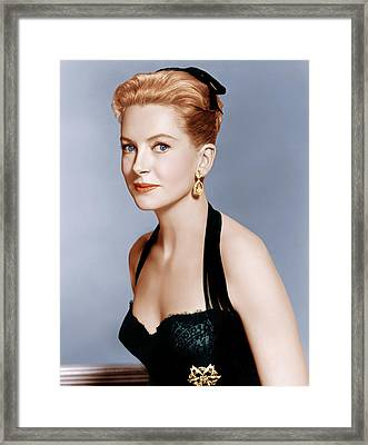 Deborah Kerr, Ca. 1959 Framed Print by Everett