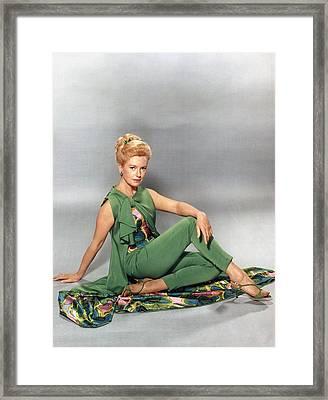 Deborah Kerr, Circa 1960s Framed Print by Everett