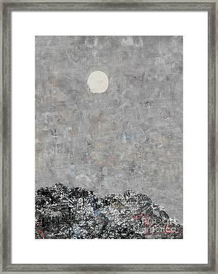 Debt Mountain Framed Print by Andy  Mercer