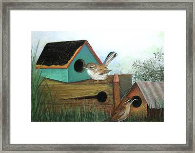 Decisions Decisions Framed Print by Lorraine McFarland