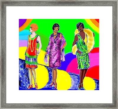 Deco 1920s Framed Print by Mel Thompson
