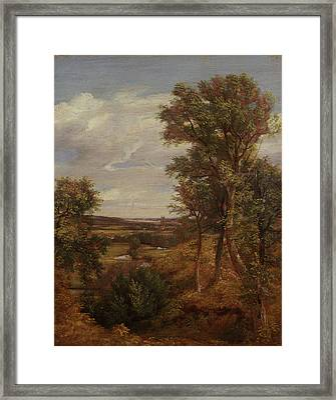Dedham Vale Framed Print by John Constable