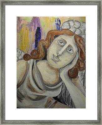 Deep In Thought Framed Print by Melissa Torres