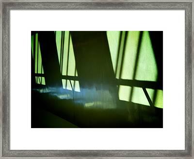 Deep Framed Print by Odd Jeppesen