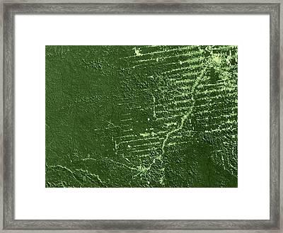 Deforestation In Rondonia, Brazil, 1992 Framed Print by Nasa