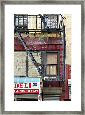 Deli Framed Print by Art Ferrier