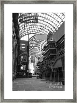 Denver Center For Performing Arts Framed Print by David Bearden
