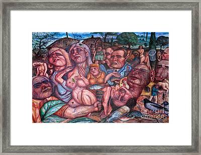 Depressive Art Framed Print by Vladimir Feoktistov
