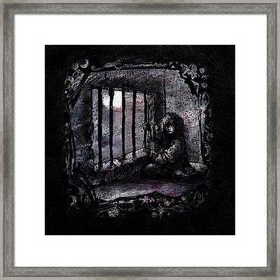Deranged Framed Print by Rachel Christine Nowicki