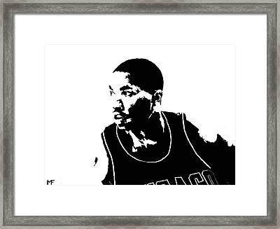 Derrick Framed Print by Matthew Formeller