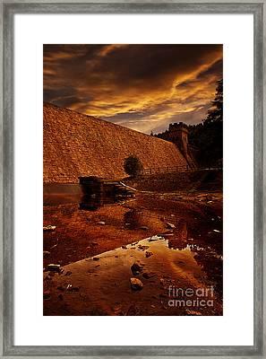 Derwent Overflow Framed Print by Nigel Hatton