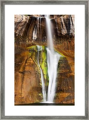 Desert Cascade  Framed Print by James Marvin Phelps