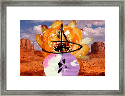 Desert Chief 2 Framed Print by Geronimo