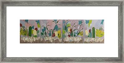 Desert Pastoral Framed Print by Frederick Fulmer