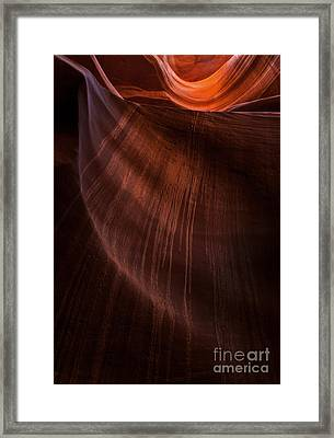 Desert Rain Framed Print by Mike  Dawson