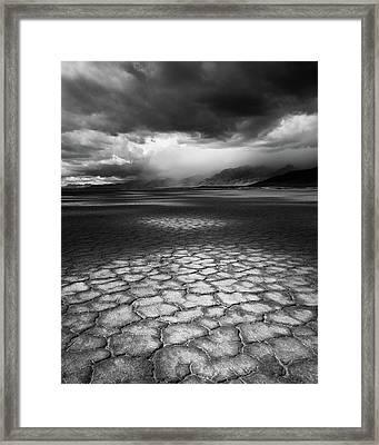 Desert Storm Framed Print by Tim Gallivan