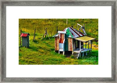 Deserted Framed Print by Joanne Kocwin