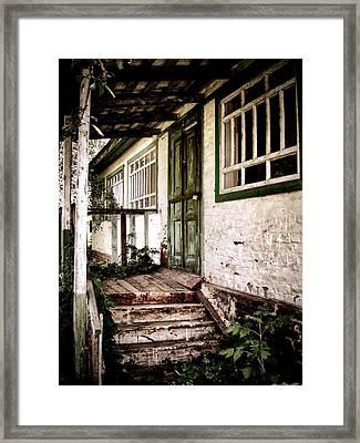 Deserted Not Forgotten Framed Print by Julie Palencia
