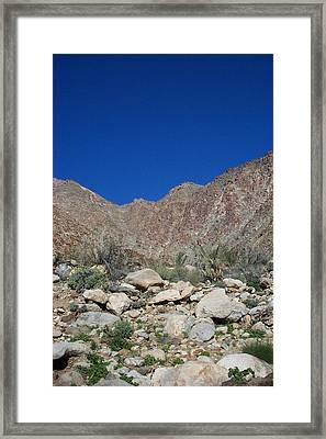 Desertscape Framed Print by Steve Huang